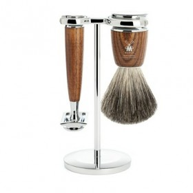 Mühle Rytmo Shaving Set Safety Razor + Shaving Brush Ash