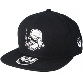 Bearded Man Apparel Spike Beard Black Snapback