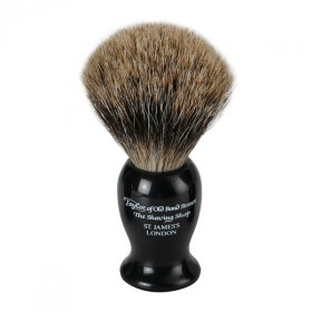 Taylor Of Old Bond Street Shaving Brush Pure Badger, Black