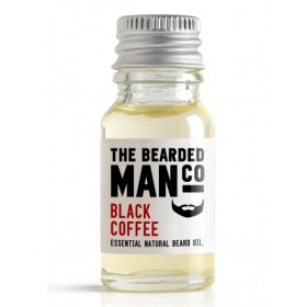 The Bearded Man Company Beard Oil Black Coffee 10 ml
