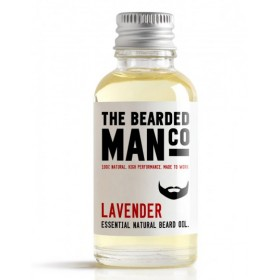 The Bearded Man Company Beard Oil Lavender 30 ml