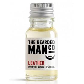 The Bearded Man Company Beard Oil Leather 10 ml