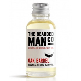 The Bearded Man Company Beard Oil Oak Barrel 30 ml