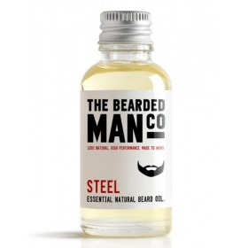 The Bearded Man Company Beard Oil Steel 30 ml