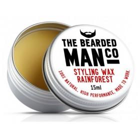 The Bearded Man Company Moustache Wax Rain Forrest