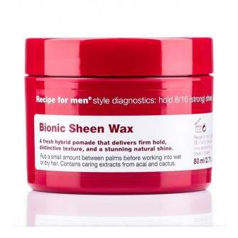 Recipe for Men Bionic Sheen Wax