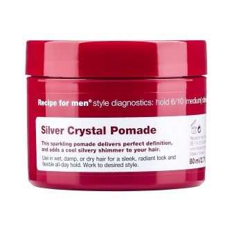 Recipe for Men Silver Crystal Pomade