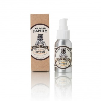 Mr Bear Family Beard Shaper Citrus