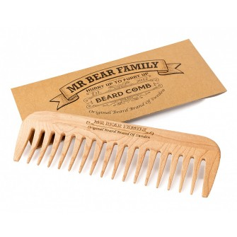 Mr Bear Wooden Comb