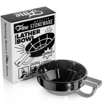 Mr Fine´s Lather Bowl Black/Grey
