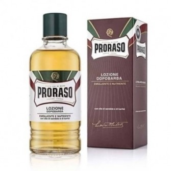 Proraso After Shave Lotion Sandalwood & Shea Barber Size