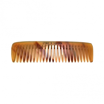 Cyril R Salter Pocket Comb Oxhorn