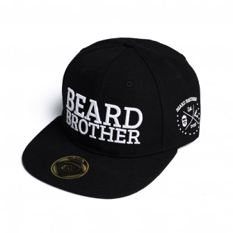 Beard Brother Snapback Black