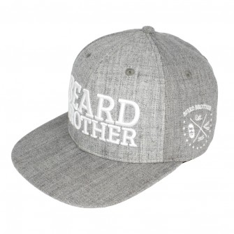 Beard Brother Snapback Grey