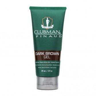Clubman Pinaud Temporary Colour Gel Dark Brown