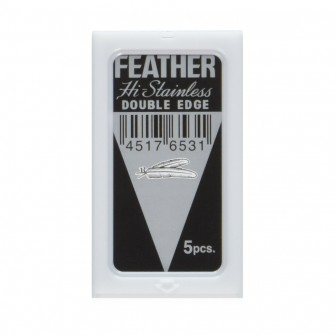 Feather Double Edge Razor Blades 5-p