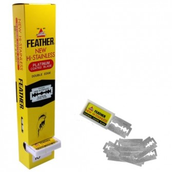 Feather Double Edge Razor Blades bigpack