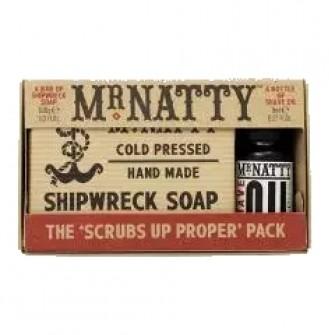 Mr Natty Scrubs up Proper Pack