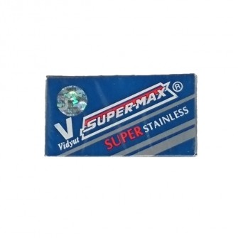 Super-Max Stainless Double Edge Razor Blades