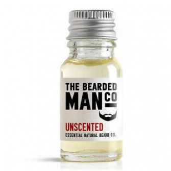 The Bearded Man Company Beard Oil Unscented 10 ml