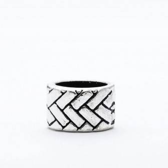 Beard Bead Fishbone