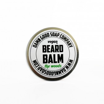 Damn Good Soap Company Vegan Beard Balm, The Woods