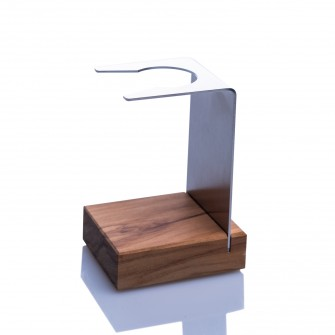 Hermod Shaving Brush Stand Olive Wood