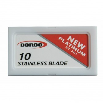 Dorco Platinum ST301 Double Edge Razor Blades 10-p