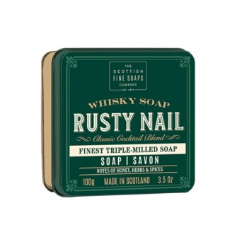 The Scottish Fine Soaps Whisky Soap Rusty Nail