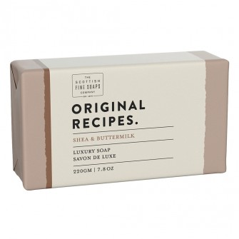 The Scottish Fine Soaps Shea & Buttermilk Luxury Soap Bar