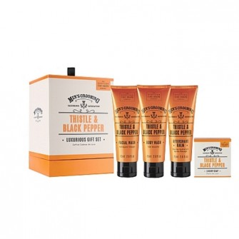 The Scottish Fine Soaps Luxurious Gift Set