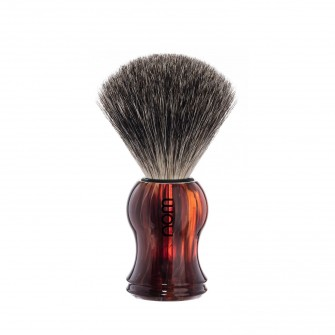 Mühle Nom Gustav Shaving Brush Pure Badger, havanna