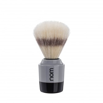 Mühle Nom Mårten Shaving Brush Natural Bristle, black/grey