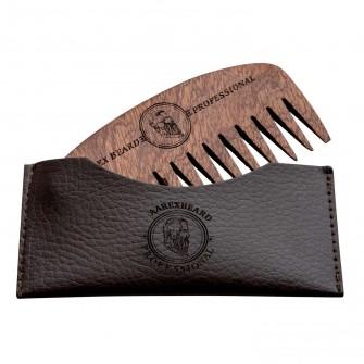 Aarex Beard Comb Mahogany No. 03
