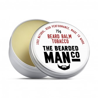 The Bearded Man Company Beard Balm Tobacco