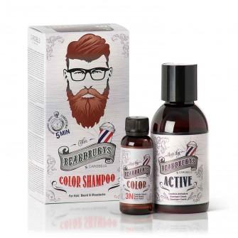 Beardburys Beard Color Shampoo Dark Brown
