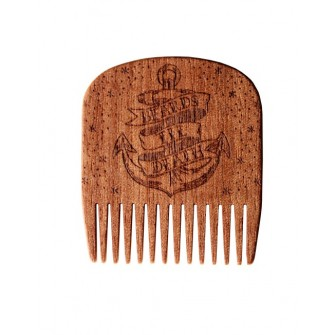 Big Red Beard Comb No.5 - Beards Til Death Anchor