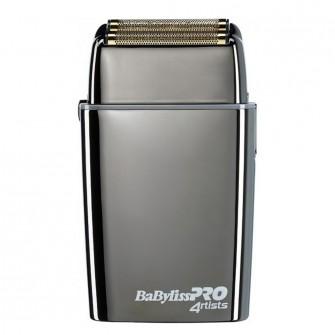 BabylissPro Double Foil Metal Shaver Gunsteel