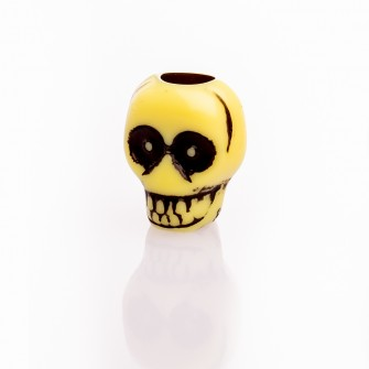 Beard Bead Skull Yellow