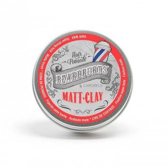 Beardburys Hair Pomade Matt Clay Wax