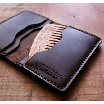 Big Red Beard Bi-Fold Wallet