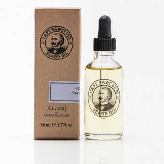 Captain Fawcett Beard Oil