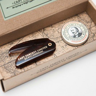Captain Fawcett Expedition Strength Wax & Folding Comb