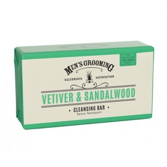 The Scottish Fine Soaps Vetiver & Sandalwood Cleansing Bar