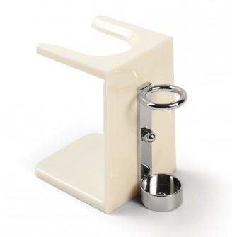Mondial Drip Stand with Razor Support, Ivory