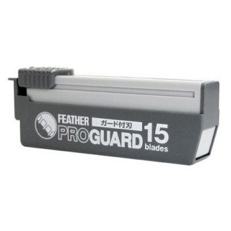 Feather Professional Pro Guard Straight Razor Blades 15-p