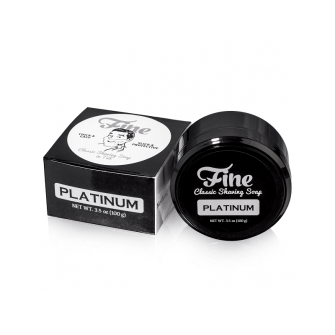 Mr Fines Platinum Shaving Soap