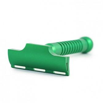 Razorock Eco Single Edge Blades Safety Razor Green Hulk