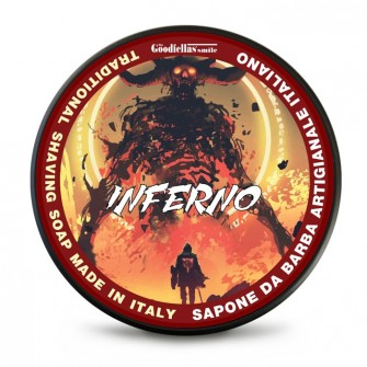 The Goodfellas' Smile Inferno Traditional Shaving Soap