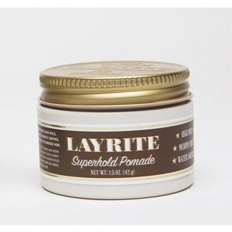 Layrite Superhold Pomade travel - vattenbaserad pomada
